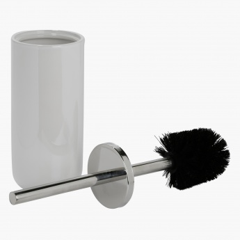 Lustrous Pearl Toilet Brush Holder