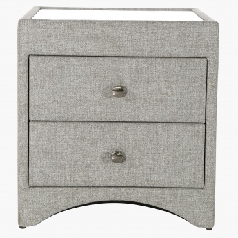Stellar 2-Drawer Night Stand