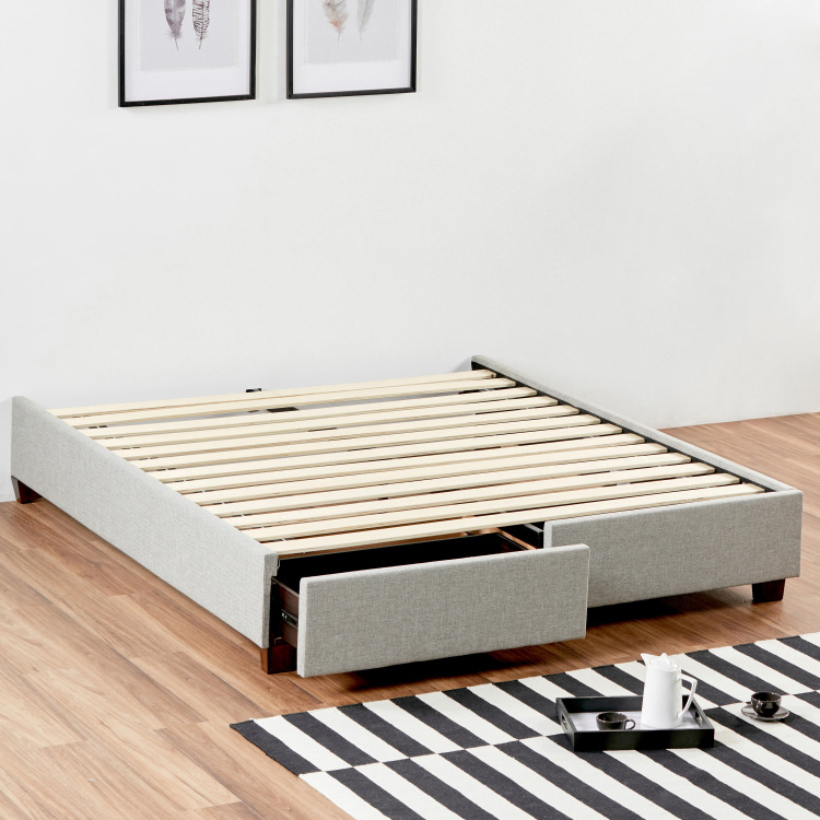 Stellar Queen Drawer Bed Base - 155x205 cm