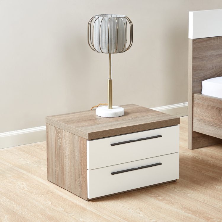 Dublin 2-Drawer Nightstand
