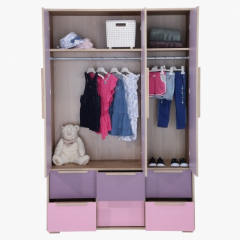 Bekka 3-Door Wardrobe