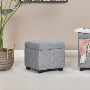 Frost Square Ottoman with Storage