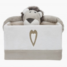 Alex the Lion Rectangular Basket - Small