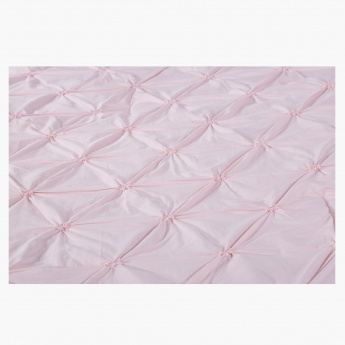 Twist Knot 2-Piece Quilted Comforter Set - 140x100 cms