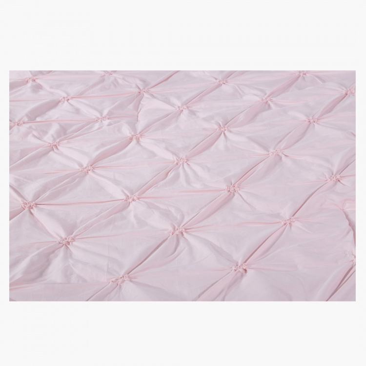 Twist Knot 2-Piece Quilted Comforter Set - 135x220 cms