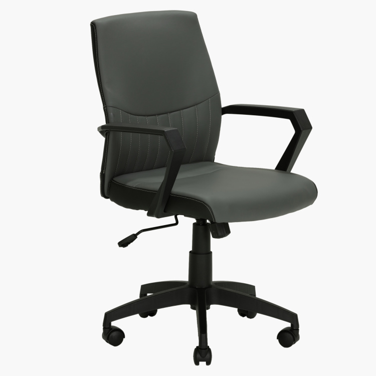 Oscar Adjustable Office Chair with Swivel Wheels