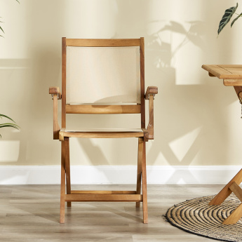 Lazy Saturday Foldable Dining Chair