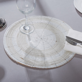 Glamour Circular Beaded Placemat