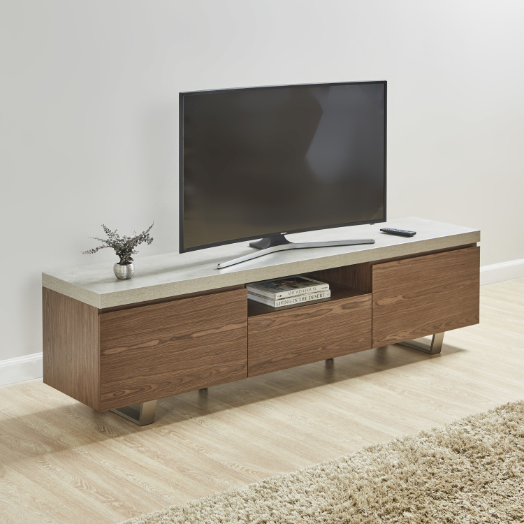 Boston 3-Drawer Rectangular TV Unit for TVs up to 65 inches