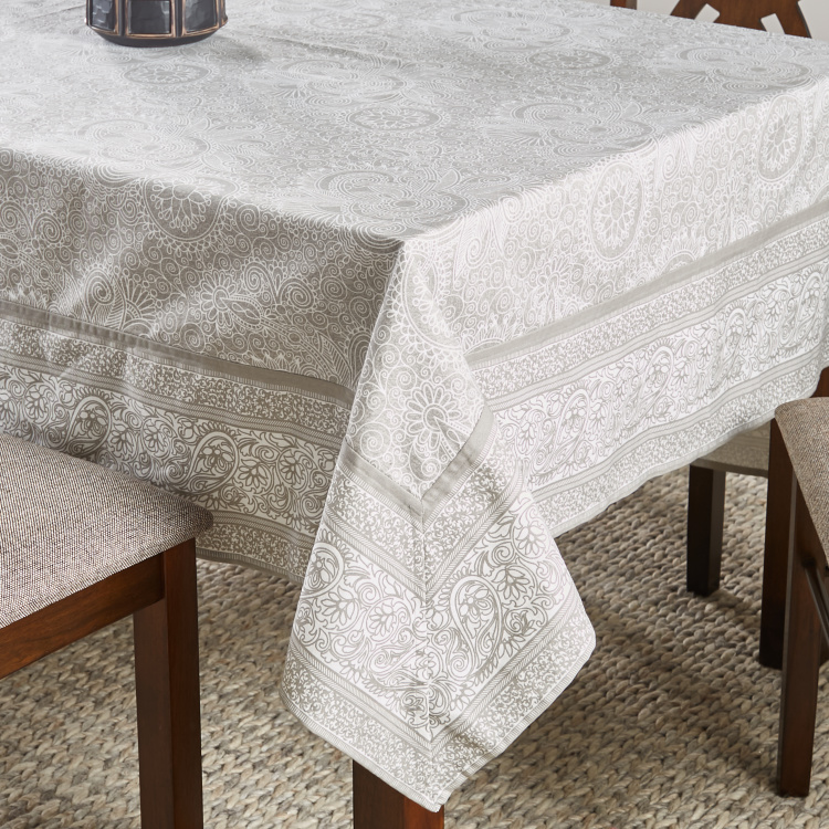 Ornate Woven Table Cover - 180x300 cm