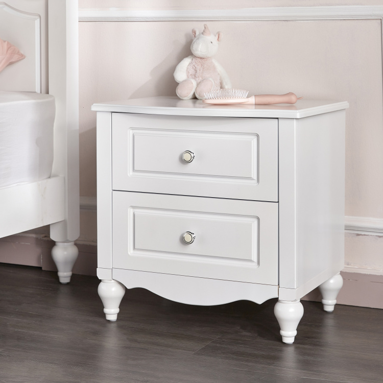 Aurora 2-Drawer Night Stand