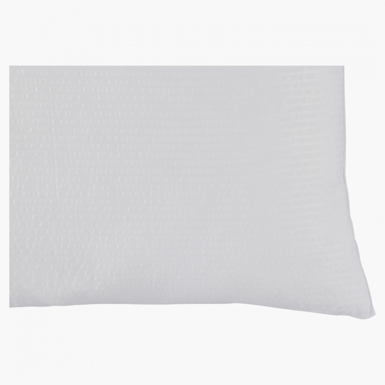 Micro Fresh Seer Sucker King Pillow - 50x90 cms