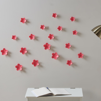Sophie 3D Flower Wall Sticker - Set of 18