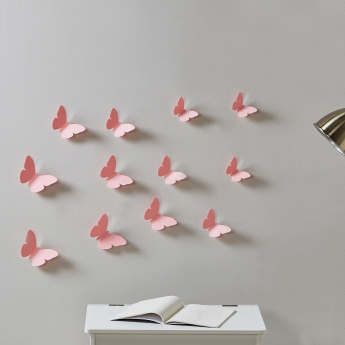 Sophie 3D Butterfly Wall Sticker - Set of 12