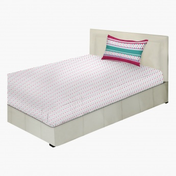 Aria Full Fitted Sheet - 200x120 cms