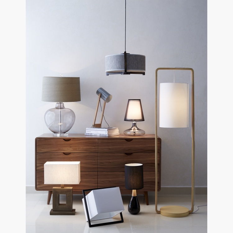 Alamak Agate Electric Table Lamp - 50 cms