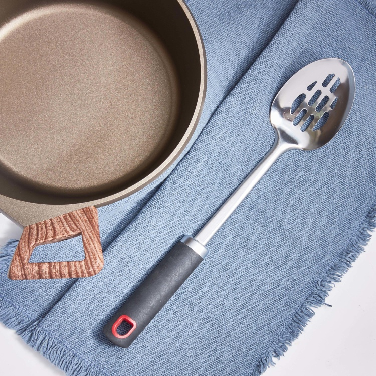 Redstone Stainless Steel Slotted Spoon