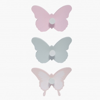 Betty's Butterfly Wall Hook - Set of 3