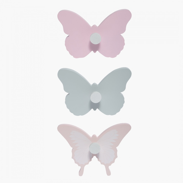 Butterfly Wall Hook - Set of 3
