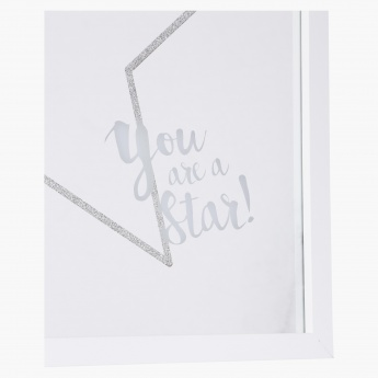 Printed You are A Star Mirror
