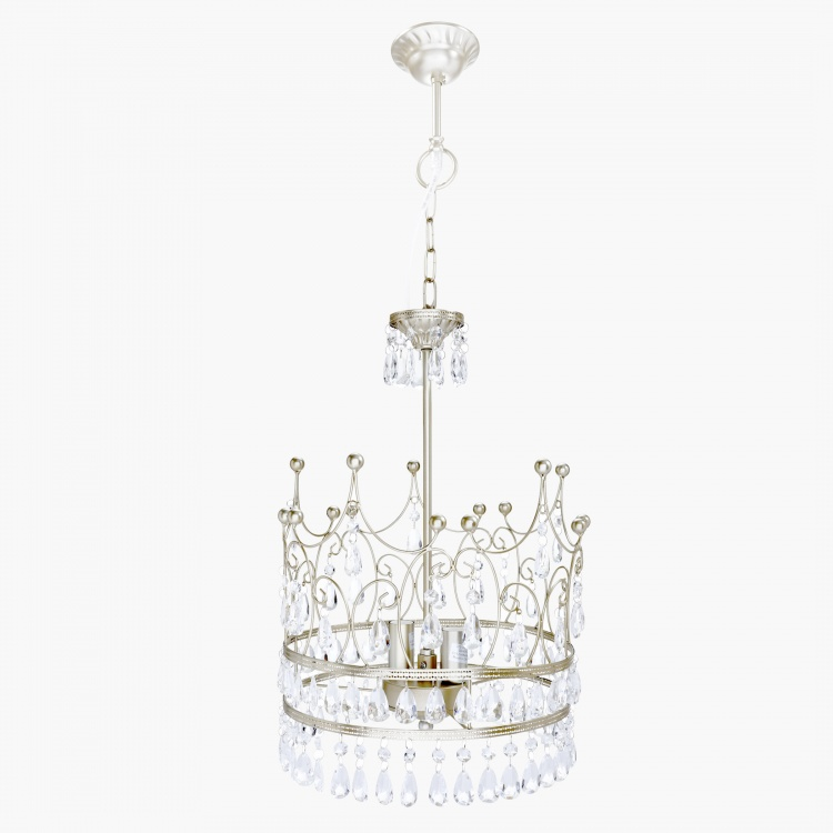 Princess Crown Shaped Chandelier