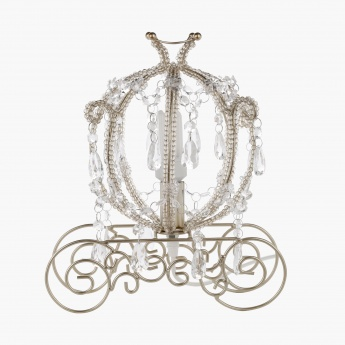 Princess Carriage Shaped Table Lamp