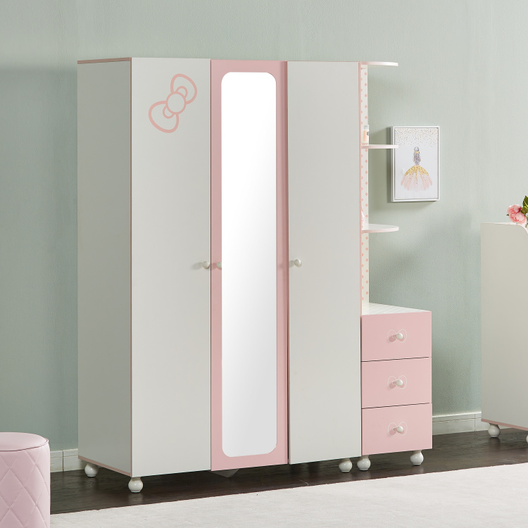 Maisie 3-Door Wardrobe