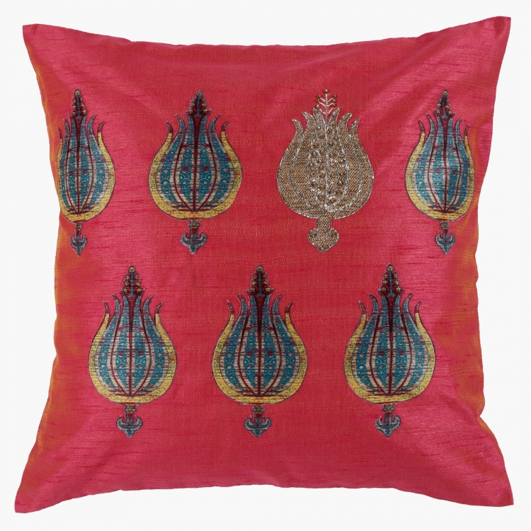 Lotus Cushion Cover - 35x50 cms