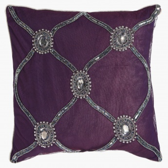 Solanum Filled Cushion-  45x45 cms