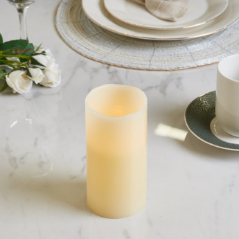 LED Flameless Wax Candle