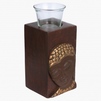 Awakened Buddha Tealight Holder