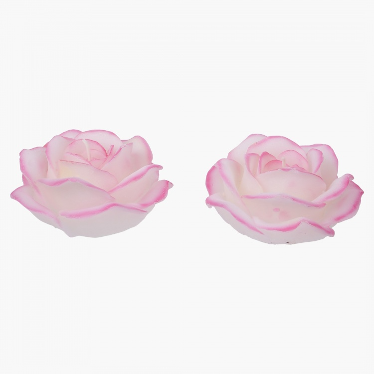 Tinted Rose Candle - Set of 2