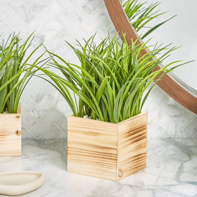 Grass Artificial Plant with Vase