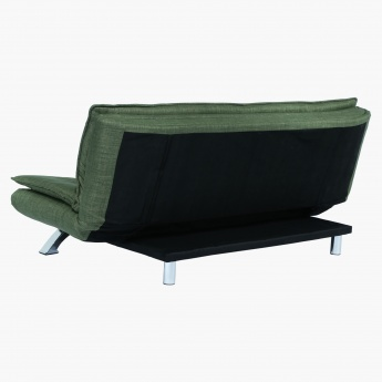 Faith 3-Seater Armless Sofa Bed