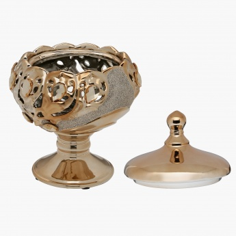 Hilde Decorative Urn - 17x17x23.5 cms
