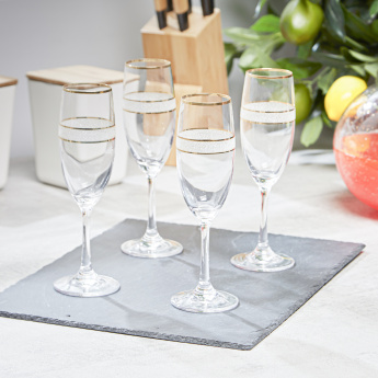 Dagmar Flute Glasses - Set of 4