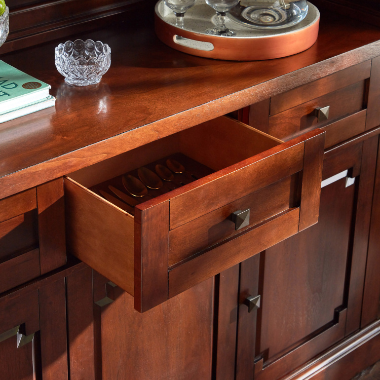 Ananke 2-Drawer Buffet with Hutch