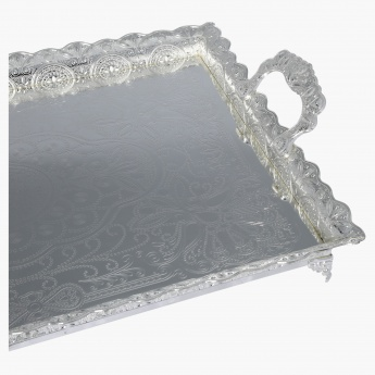 Bisha Serving Tray with Handle