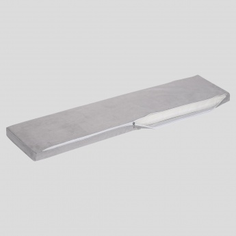 KidIt Grey Bench Cushion Cover