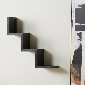 W Shaped Wall Shelf