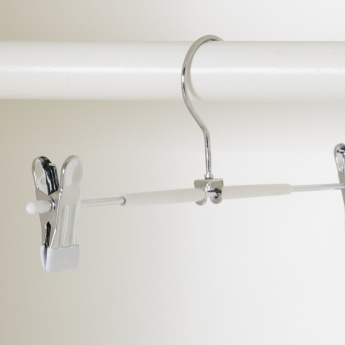 Clothes Hanger with Clip Detail