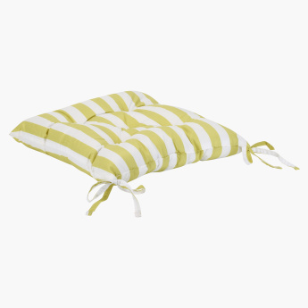 Prima Striped Chair Pad