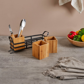Finesse 3-piece Kitchen Box Holder with Rack