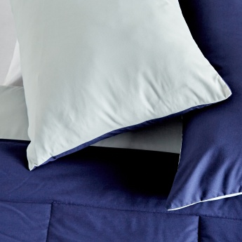 Quilted 3-Piece Reversible Comforter Set - 160x240 cms