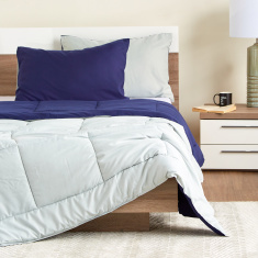 Mateo Quilted 3-Piece Reversible Comforter Set