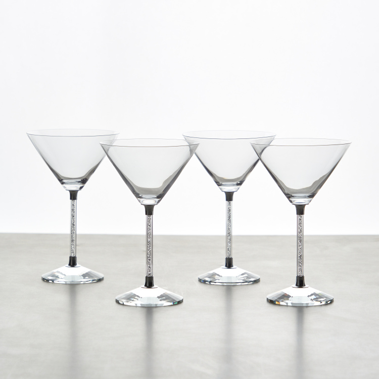 Moundou 4-Piece Martini Glass Set - 270 ml