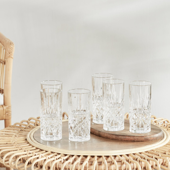Melodia 6-Piece Highball Glass Set - 360 ml