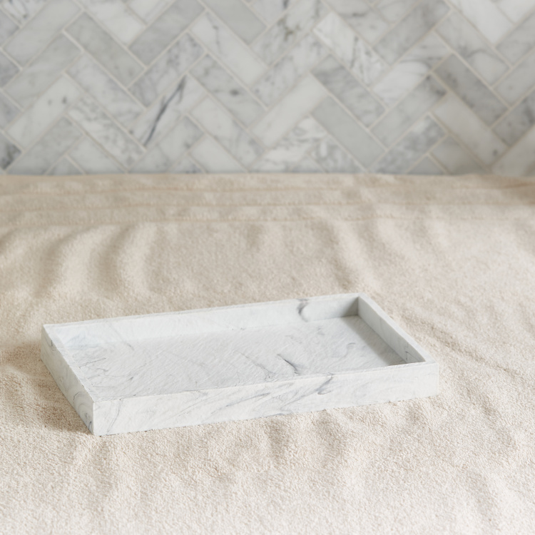 Antarctic Rectangular Towel Tray