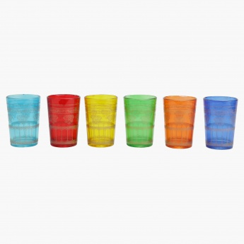 Moroccon Printed Tumbler - Set of 6