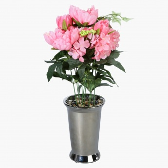 Peony Arrangement in Pot